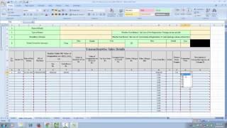 new sales tax return form