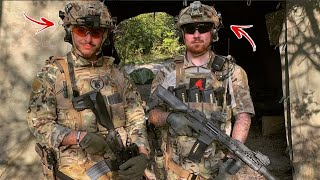 2 EX ARMY SOLDIERS PLAY AIRSOFT AND DESTROY!! - Names Nicco