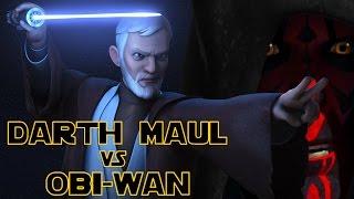 DARTH MAUL vs OBI-WAN - Was wirklich geschah! - Star Wars Rebels [Deutsch]