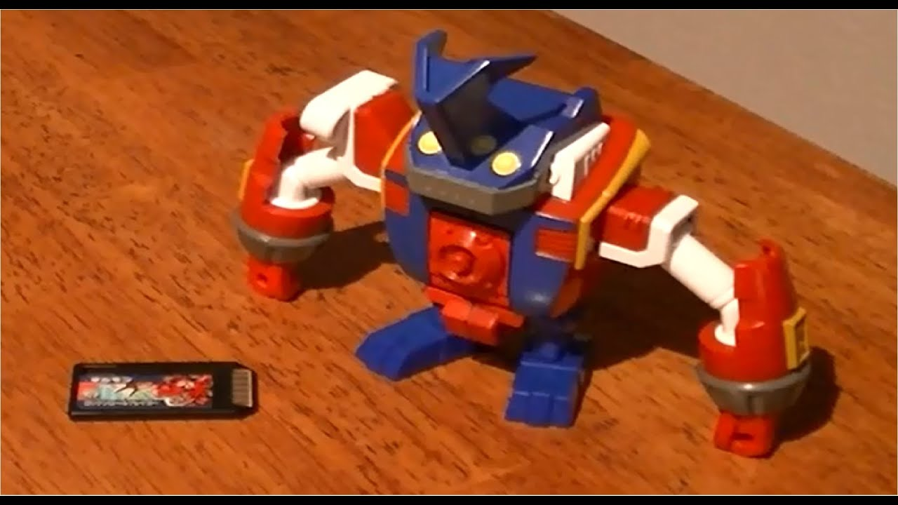 Digimon Xros Figure Series 02 Ballistamon Review
