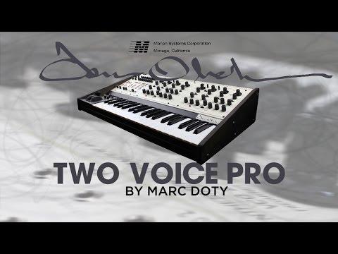01-The Tom Oberheim Two Voice Pro: Part 1-Oscillators1
