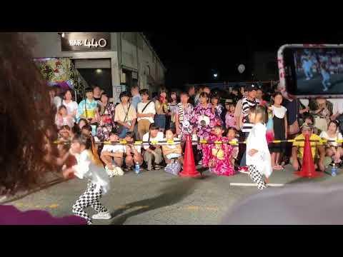 萩 夏祭り ダンスパフォーマンス