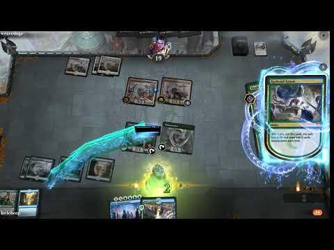 MTG Arena: UG Mass Manipulation: Five Matches At Mythic #1