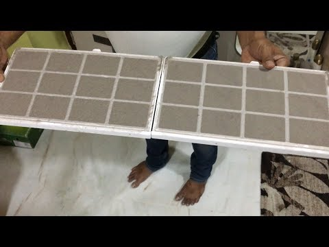 How to Clean Split Air Conditioner at home in hindi || easily Clean AC filter by yourself ||