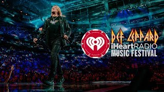 Behind The Scenes at iHeartRadio Festival 2019 - Def Leppard