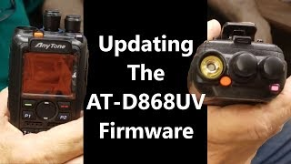 How to update the firmware of the AnyTone AT-D868UV