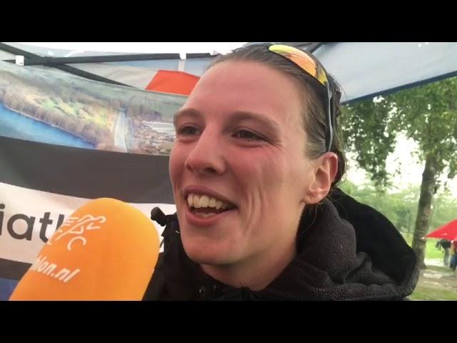 Maaike Vooren zegeviert bij Triathlon Alphen