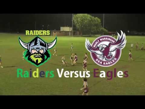 Round 10 - Raiders Versus Eagles - Inferno Super Series Women's