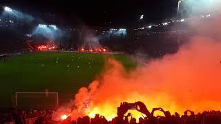 FC St.Pauli - HSV, Pyroshow beim Stadtderby von beiden Fans, 16.09.2019, Derby, Pyro