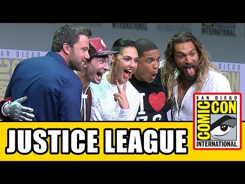 JUSTICE LEAGUE Comic Con 2017 Panel News & Highlights