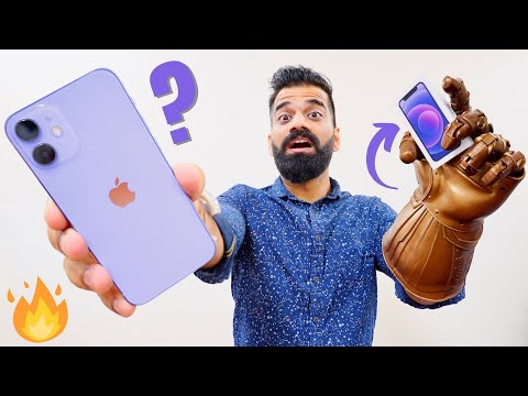 Purple iPhone 12 Mini Unboxing & First Look - Thanos Edition💜🔥🔥🔥