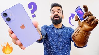 Pers iPhone 12 Mini Unboxing & First Look - Thanos Edition💜🔥🔥🔥