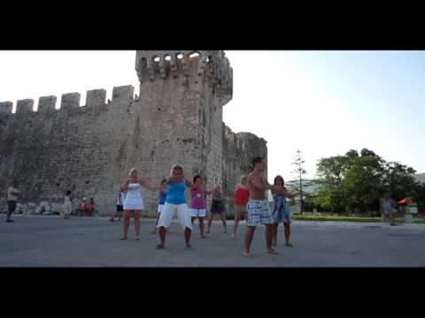 Zumba flashmob Mandinga Croatia 2012