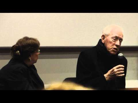 A life of acting: Max von Sydow interviewed (FULL HD). 1/2