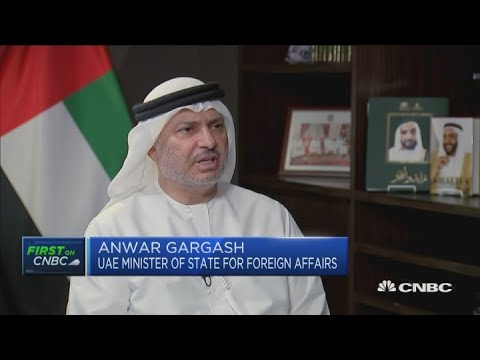 Israel-UAE peace deal won't change Iran's position, Emirati minister says