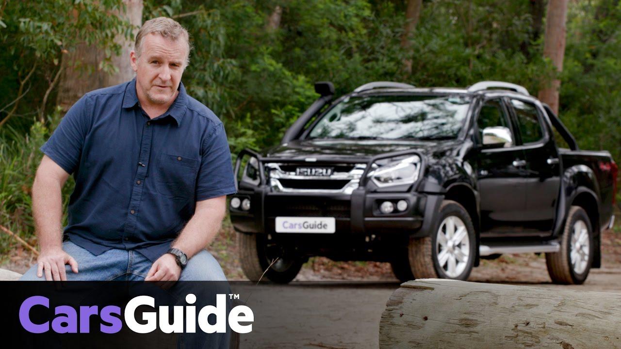 Isuzu D-Max LS-T 2017 review | road test video