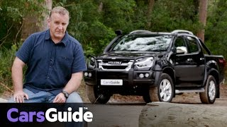 Isuzu D-Max LS-T 2017 review | road test video