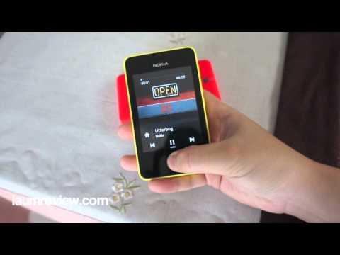[HD] รีวิว Nokia Asha 501 แบบไทยไทย :EP2: ทัวร์ให้ทั่วเครื่อง