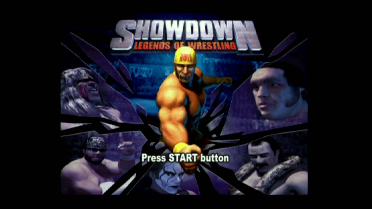 showdown legends of wrestling ps2 review youtube