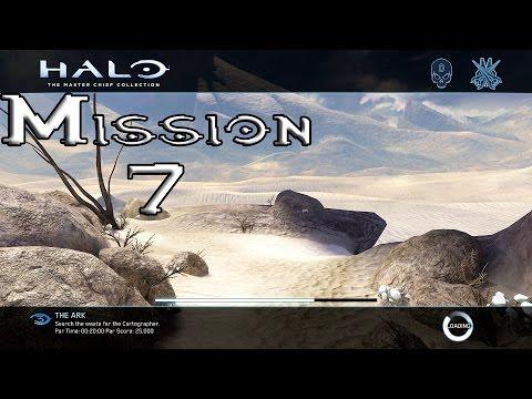 Halo 3 - The Ark - Mission 7 Walkthrough (1080p60fps) Xbox One MCC
