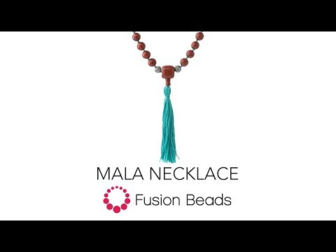Tutorial: Learn how to make the Mala Beaded Necklace | Fusion Beads