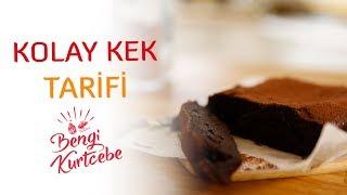 Unsuz Çikolatalı Kek Tarifi | Kolay Kek Nasıl Yapılır?