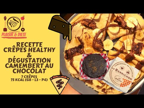 crÊpes-healthy-&-degustation-camembert-au-chocolat-!-|-recette,-conseils-&-taste-test-#recipe