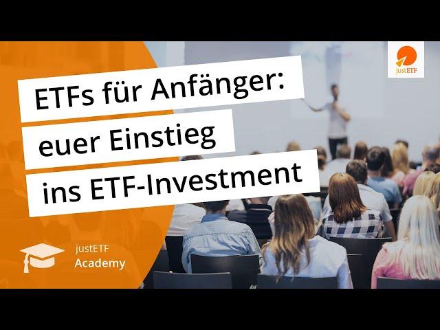 ETFs für Anfänger – das Online-Seminar