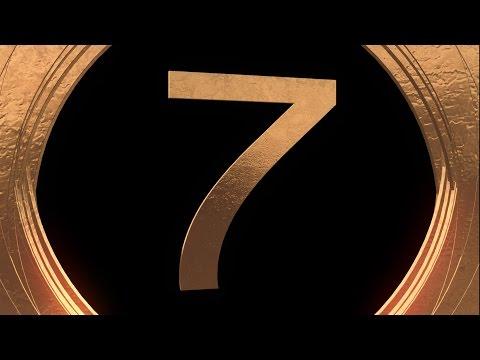 Countdown Timer 10 sec ( v 491 ) golden timer with sound effects 4k