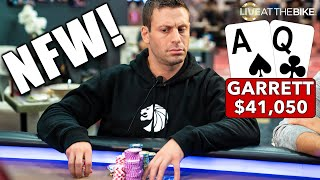 HOW DOES THIS EVEN HAPPEN?!?!....G-Man & Barry Woods Clash in High Stakes Poker ♠ Live at the Bike!