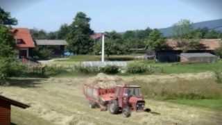 Kmečko opravilo, sušenje sena - nekoč in danes