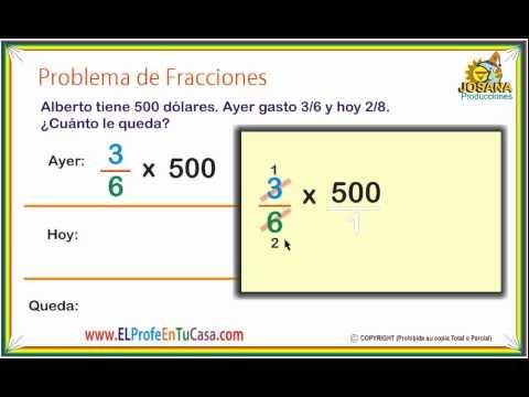 Problema de Fracciones - Clases de Matemáticas - www ...