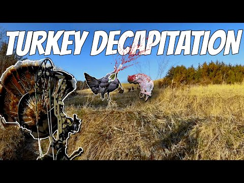FIRST  EVER TOTAL TURKEY DECAPITATION REAPER STYLE! | No Blind |