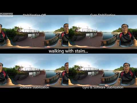 Madv360 Madventure360 Mi Sphere Stabilization Comparison Test | Gyro vs Software Stabilized Footages