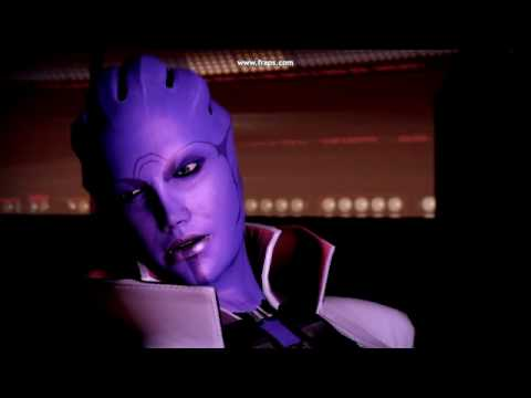 Mass Effect 2 - Aria's Past (alluding to Wrex's Aleena)