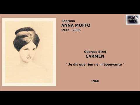 Soprano ANNA MOFFO - Carmen