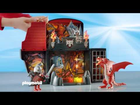Playmobil Game Box Σπηλιά Δράκου