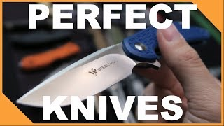 Hall of Fame Pocket Knives: The 5 Perfect EDC Knives (Under $100)