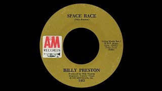 Billy Preston ~ Space Race 1973 Funky Purrfection Version