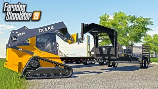 TRAILER'S ARE NOW FOR SALE AT RCC! (BUYING SKID STEER & MORE TRAILERS) | FARMING SIMULATOR 2019