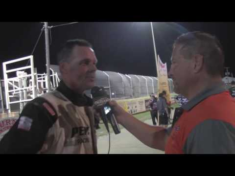 2016 World of Outlaws Craftsman Sprint Car Series Victory Lane from Attica Raceway Park