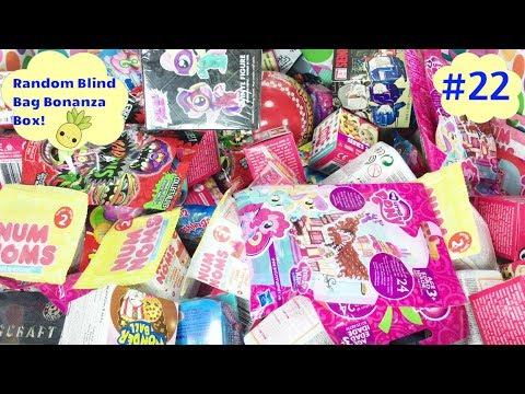 Random Blind Bag Bonanza Box 22 Splashlings Num Noms Mlp