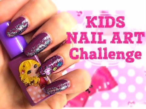 Full nail art using only kids kit challenge michela parisi full nail art using only kids kit challenge michela parisi prinsesfo Gallery