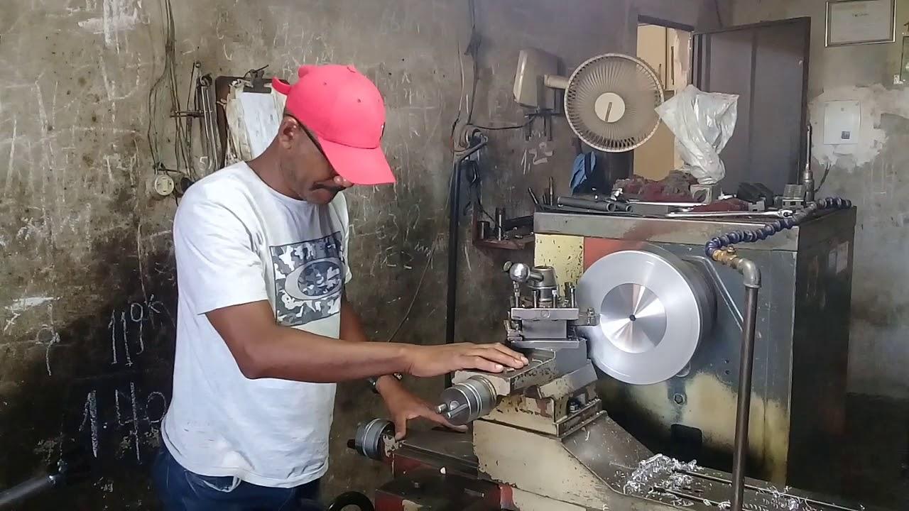 Mazios Fabricando Disco Pra Amolar Maquina De Cortar Cabelo Youtube