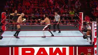 Seth Rollins Becky Lynch Vs Mike María Kanellis WWE Raw 01 07 2019 En Español