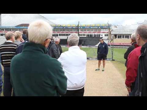 Edgbaston Head Groundsman Gary Barwell shares his expertise on creating wickets at Edgbaston