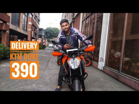TAKING THE DELIVERY OF  KTM DUKE