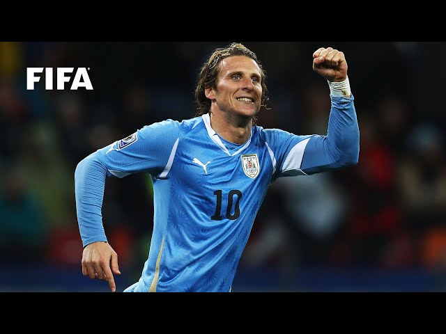 Diego Forlan goal vs Germany | ALL THE ANGLES | 2010 FIFA World Cup