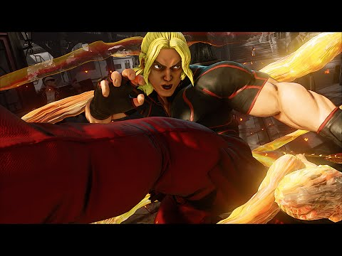Street Fighter V: Ken Reveal Trailer - YouTube