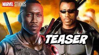 Blade Reboot Marvel Phase 4 Teaser Breakdown and Easter Eggs